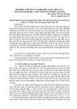 Tìm hiểu lời nói và nghi thức giao tiếp của người Nam bộ qua tiểu thuyết Hồ Biểu Chánh