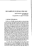 Một nghiên cứu về lớp học tiếng Việt