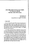 Giới thiệu một cách dạy phát triển từ vựng qua chủ đề cho học viên nước ngoài - Trần Thị Minh Giới