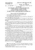 Quyết định Số: 1342/QĐ-UBND tỉnh Quảng Nam
