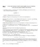 Bài 2: Các bất đẳng thức kinh điển, quan trọng ứng dụng giải nhiều bài toán - Trần Thông Quế