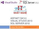 Bài giảng ASP.NET C# 5.0 visual studio 2013 SQL server 2012 - Lương Trần Hy Hiến