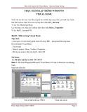 Bài giảng Thực hành lập trình Windows Visual Basic: Bài 01-04 - Phạm Ngọc Hưng