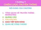 Bài giảng Marketing căn bản: Chương 9 - ThS. Dương Thị Ngọc Liên