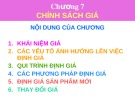 Bài giảng Marketing căn bản: Chương 7 - ThS. Dương Thị Ngọc Liên