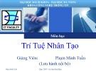Bài giảng môn Trí tuệ nhân tạo - Phạm Minh Tuấn