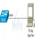 Tài liệu hướng dẫn thực hành CCNA: Bài 7 - Nạp IOS image cho 2 Router chạy từ Flash