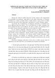 Chính sách giáo dục ngôn ngữ vùng dân tộc thiểu số và vấn đề phát triển bền vững ở Việt Nam hiện nay - GS. TS. Trần Trí Dõi