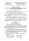 Thông tư liên tịch Số: 36/2014/TTLT/BGDĐT-BNV