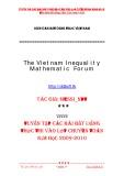 Tuyển tập các bài bất đẳng thức thi vào lớp chuyên toán năm học 2009-2010