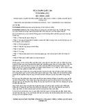 Tiêu chuẩn Quốc gia TCVN 8664-1:2011 - ISO 14644-1:1999