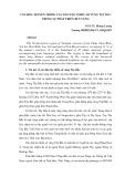 Văn hóa truyền thống các dân tộc thiểu số vùng Tây Bắc trong sự phát triển bền vững - PGS. TS. Hoàng Lương