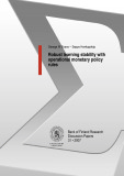 Robust learning stability with operational monetary policy rules