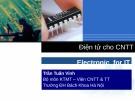 Bài giảng Điện tử cho Công nghệ thông tin: Chương 3 - Trần Tuấn Vinh