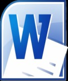 Giáo trình Microsoft word: Phần 1