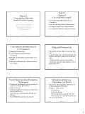 Bài giảng Nhập môn Công nghệ học phần mềm (Phần VI) – Chương 11: các chủ đề khác trong SE