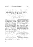 Diễn biến vùng ven biển cửa Thuận An (Thừa Thiên Huế) trước và sau trận lũ lịch sử tháng 11-1999