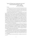 Một số vấn đề mới đã được giới thiệu trong tiêu chuẩn thi công đập đất đầm nén 14TCN-20-2004