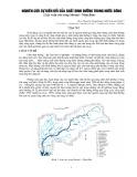 Nghiên cứu sự biến đổi của chất dinh dưỡng trong nước sông