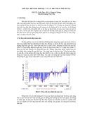 Khí hậu, biến đổi khí hậu và các biện pháp thích ứng
