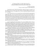 Lũ sông Hương và việc tính toán lũ bằng mô hình tập trung nước tổng hợp - TS. Hoàng Ngọc Quang