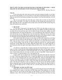 Một số ý kiến về sức khỏe của hệ sinh thái sông và sinh giám sát môi trường, ví dụ áp dụng sinh vật chỉ thị để giám sát môi trường hạ lưu sông Trà Khúc - Nguyễn Văn Sỹ