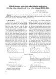 Một số phương pháp tính toán thủy lực chặn dòng khi xây dựng công trình ở vùng triều và quai đê lấn biển - PGS.TS. Hồ Sĩ Minh