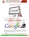 Giáo trình Marketing online: Buổi 5 - Seo copywriting