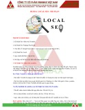 Giáo trình Marketing online: Buổi 8 - Local Seo+Seo Plan
