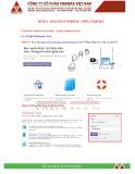 Giáo trình Marketing online: Buổi 4 - Khai báo website + Ping website