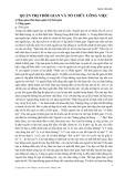 Quản trị thời gian và tổ chức công việc - Phạm Văn Anh