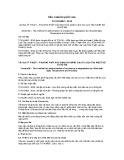 Tiêu chuẩn Quốc gia TCVN 8482:2010