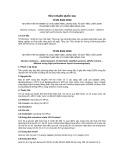 Tiêu chuẩn Quốc gia TCVN 8341:2010