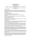 Tiêu chuẩn Quốc gia TCVN 8417:2010