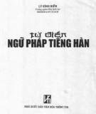 Ebook Từ điển ngữ pháp tiếng Hàn