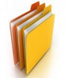Danh mục tài liệu tham khảo chương trình đào tạo chuẩn ngành: Quản lý đất đai