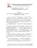 Những điểm mới của luật ban hành văn bản quy phạm pháp luật năm 2015 - Trần Văn Lợi