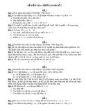 5 đề kiểm tra chương 2: Đại số 7