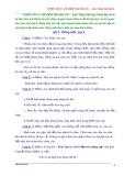 Tổng hợp đề kiểm tra học kì 1 môn Tiếng Việt lớp 5 (kèm đáp án)