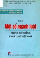 Ebook Tài liệu học tập và nghiên cứu môn học Nhà nước và pháp luật - Tập 2: Một số ngành luật trong hệ thống pháp luật Việt Nam: Phần 2