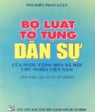 Tìm hiểu Bộ luật tố tụng dân sự nước Cộng hòa xã hội chủ nghĩa Việt Nam: Phần 2