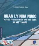 Đầu tư phát triển đào tạo nghề ở Việt Nam - Quản lý nhà nước: Phần 1