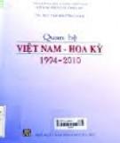 Ebook Quan hệ Việt Nam - Hoa Kỳ 1994-2010: Phần 1