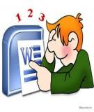 Bài 4: Kỹ năng soạn thảo văn bản