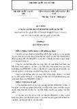 Quy định công tác văn thư, lưu trữ tại Đại học Quốc gia Hà Nội