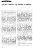Lạm phát ở Việt Nam - nguyên nhân và giải pháp
