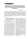 Những bất cập hiện nay của chính sách đất đai và thách thức đối với phát triển tam nông ở Việt Nam - Nguyễn Tấn Phát