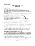 Đề kiểm tra học kỳ 2 có đáp án môn: Vật lý 10 - Trường THPT Phú Nhuận