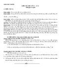 Đề kiểm tra học kỳ 2 có đáp án môn: Vật lý 11 - Trường THPT Phú Nhuận