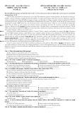 Đề thi thử đại học có đáp án môn thi: Anh văn, khối A1, D - Mã đề 132 (Năm học 2012-2013)
